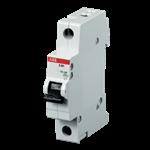 Изображение ABB SH201L C16 Автоматический выключатель 1P 16А (C) 4,5kA