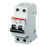 Изображение ABB S202 C63 Автоматический выключатель 2P 63А (C) 6кА