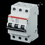 Изображение ABB S203 C50 Автоматический выключатель 3P 50А (С) 6kA