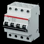 Изображение ABB S204 C63 Автоматический выключатель 4P 63А (С) 6kA