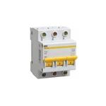 Изображение IEK Автоматический выключатель ВА47-29 3Р 10А 4,5кА х-ка С