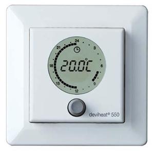 Изображение DEVI терморег D550 электрон+воздух белый