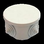 Изображение GE41237 Коробка расп ОП круглая 4 гермоввода IP44