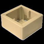 Изображение GЕ40231-02 Коробка унив.сбор для нар. монтажа крем