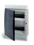 Изображение LUC 1SL0512A06 UNIBOX бокс в нишу 24М прозр.дверь белый (с клемм)