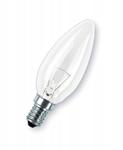 Изображение Лампа CLAS B CL Е14 60 Вт 230V свеча прозрачная