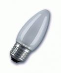 Изображение Лампа Philips Е27 60W свеча матовая
