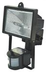 Изображение Прожектор  галогенный 150W с лампой черный с дат.