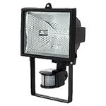 Изображение Прожектор  галогенный 500W с лампой черный с дат.