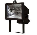 Изображение Прожектор галогенный  150W с лампой черный