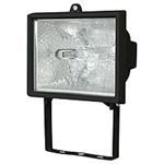 Изображение Прожектор галогенный  500 W с лампой черный