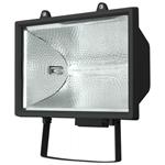 Изображение Прожектор галогенный 1000 W с лампой черный