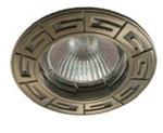 Изображение Св-к MR-16 DS09 АВ латунь с орнаментом