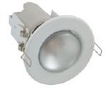 Изображение Светильник точечный R-50 белый плоскоповоротный