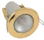 Изображение Светильник точечный R-50 золото штамповка
