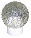 """Изображение Стекло D150 """"прозрачный шар"""" кольца"""