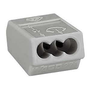 Изображение WAGO Клемма на 3 проводника 4 мм. кв. (273-503)