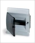 Изображение LUC 1SL0510A06 UNIBOX бокс в нишу 8М прозр.дверь белый (с клемм)