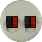Изображение 68212 ЛП 2-ой аудиорозетки белой (2 мех 67311) Celiane