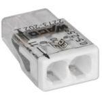 Изображение WAGO Клемма монтажная на 2 проводника сечением до 2,5 мм кв. ( только медь) (2273-242)