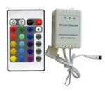 Изображение LED-C 111 RGB-контроллер (трехканальный) 24 кнопки.