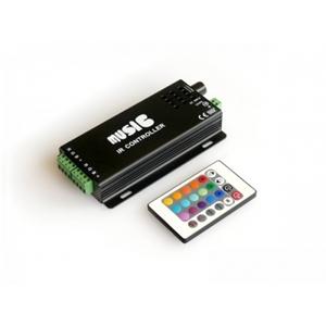 Изображение RGB-аудиоконтроллер Music IR-120, IR-ДУ 24 кнопки