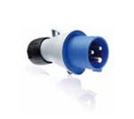 Изображение ABB Вилка кабельная 32А 2Р+E IР44 переносная 250В Easy&Safe (232EP6)