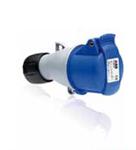 Изображение ABB Розетка кабельная 32A 2P+E IP44 переносная 250В Easy&Safe (232EC6)