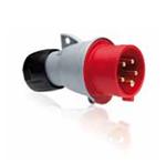 Изображение ABB Вилка кабельная 32А 3Р+N+E IР44 переносная 415В Easy&Safe (432EP6)