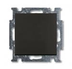 Изображение ABB BJB Basic 55 Шато (чёрн) Выключатель 1-клавишный