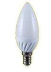 Изображение Лампа светодиодная свеча Е14 5W 2700K 300Lm Электромир