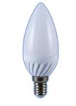 Изображение Лампа светодиодная свеча Е14 5W 4200K 300Lm
