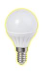 Изображение Лапма светодиодная шарик Е14 5W 2700K 300Lm