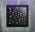 Изображение Выключатель 1кл нержавеющая сталь в кристаллах Swarowski