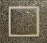 Изображение Выключатель 1кл белое стекло в кристаллах Swarowski