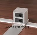Изображение для категории Алюминиевые напольные кабель каналы Simon Connect