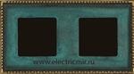 Изображение FD01212VO Рамка на 2 поста VERDE OXIDO TOLEDO