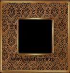 Изображение FD01321DBOB Рамка на 1 пост DECORBRASS Bright Gold TAPESTRY