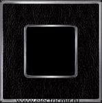 Изображение FD01321MCB Рамка на 1 пост MONALISA Bright Chrome TAPESTRY