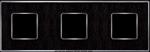 Изображение FD01323MCB Рамка на 3 поста MONALISA Bright Chrome TAPESTRY