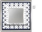 Изображение FD01341NECB Рамка на 1 пост BLACK LYS Bright Chrome PORCELAIN