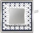 Изображение FD01342NECB Рамка на 2 поста BLACK LYS Bright Chrome PORCELAIN