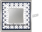 Изображение FD01343NECB Рамка на 3 поста BLACK LYS Bright Chrome PORCELAIN