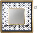 Изображение FD01341NEOB Рамка на 1 пост BLACK LYS Bright Gold PORCELAIN