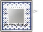 Изображение FD01342AZCB Рамка на 2 поста BLUE LYS Bright Chrome PORCELAIN