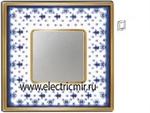 Изображение FD01341AZOB Рамка на 1 пост BLUE LYS Bright Gold PORCELAIN