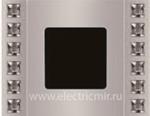 Изображение FD01271CB Рамка на 1 пост VELVET CRYSTAL DE LUXE