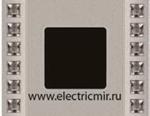 Изображение FD01281CB Рамка на 1 пост DECOR CRYSTAL DE LUXE