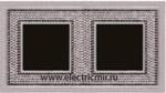 Изображение FD01292CB Рамка на 2 поста ART CRYSTAL DE LUXE
