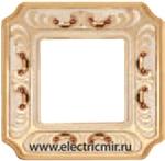 Изображение FD01351OPCL Рамка на 1 пост PATINE ORO BLANCO CRYSTAL DE LUXE